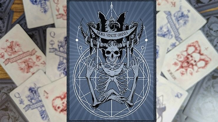 Mors Vincit Omnia Playing Cards - magic