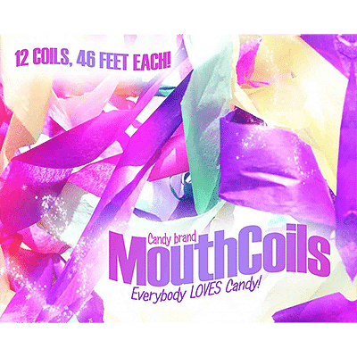 Mouth Coils 46 ft (Candy Brand) - magic
