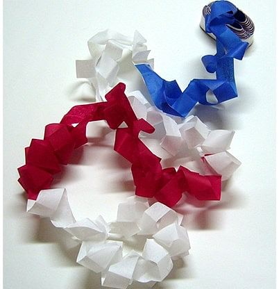 Mouth Coils 62 ft. - Patriotic - magic