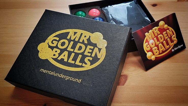 Mr Golden Balls 2.0 - magic
