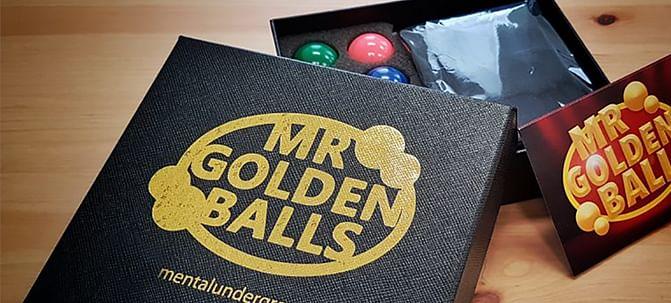 Mr Golden Balls - magic