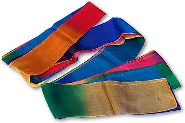Multicolor Silk Streamer 4 inch - magic