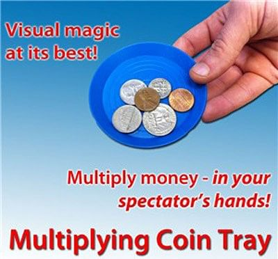 Multiplying Coin Tray - magic