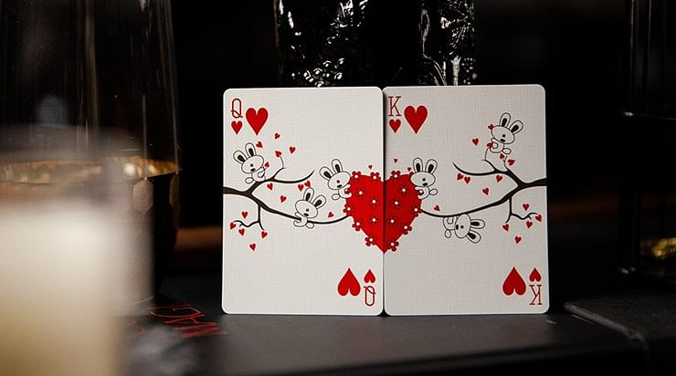 My Love Playing Card (Numbered Seals)