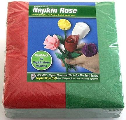 Napkin Rose Kit - magic