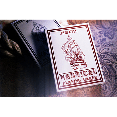 Nautical Playing Cards (Red) - magic