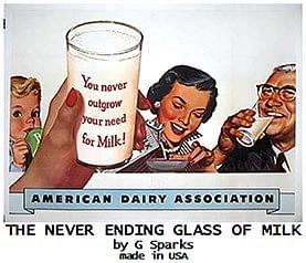 Never Ending Glass of Milk - magic