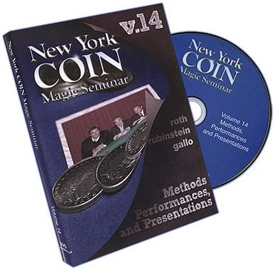 New York Coin Seminar Volume 14: Methods - magic