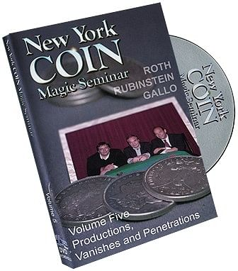 New York Coin Seminar Volume 5: Productions - magic