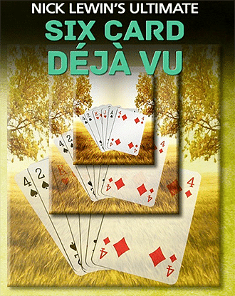 Nick Lewin's Six Card Déjà Vu - magic