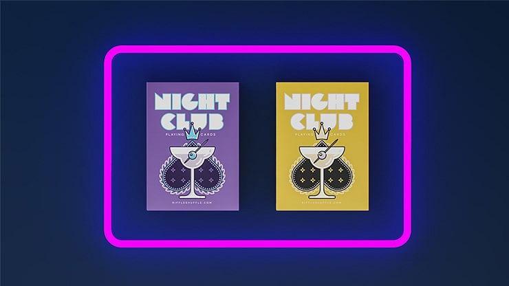 Nightclub Playing Cards - magic