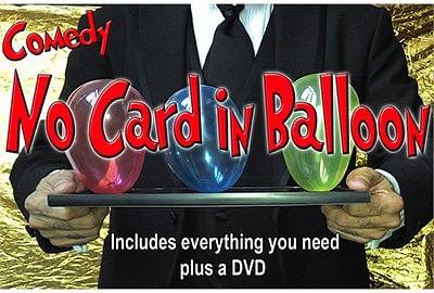 NO Card in Balloon! - magic