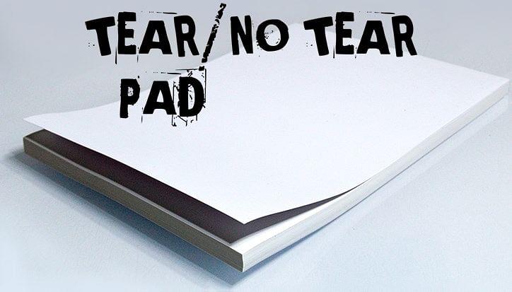 No Tear Pad XL (Tear/No Tear Alternating/ 50) - magic