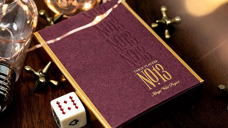 No.13 Table Players Edition Playing Cards - magic