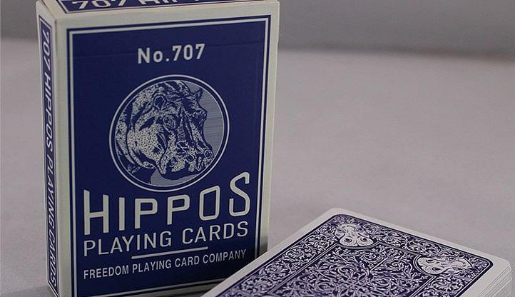 No.707 Hippos Playing Cards - magic
