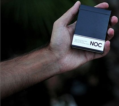 NOC Original Deck (Black) USPCC Printed