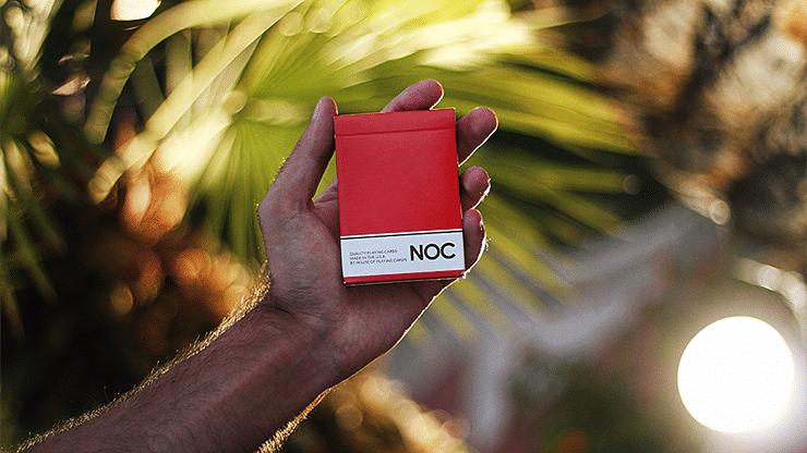 NOC Original Deck (Red) USPCC Printed - magic