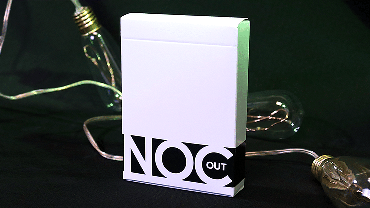 NOC Out: White Playing Cards - magic