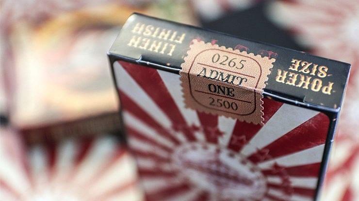 Nostalgic Circus Playing Cards