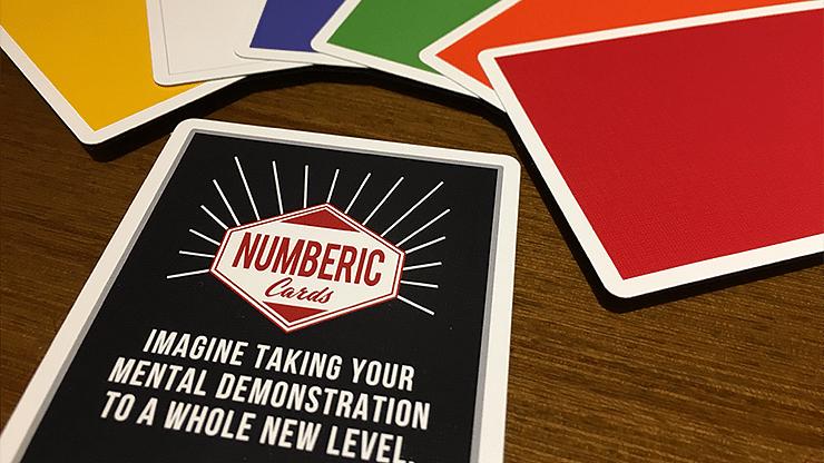 Numberic Cards - magic