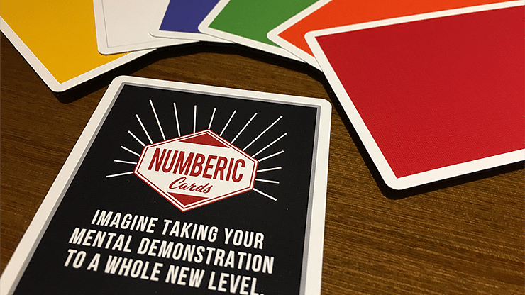 Numberic Cards - magic