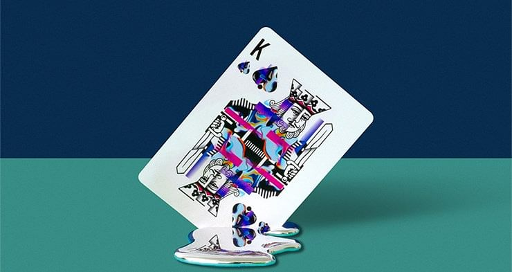 Oblique Playing Cards