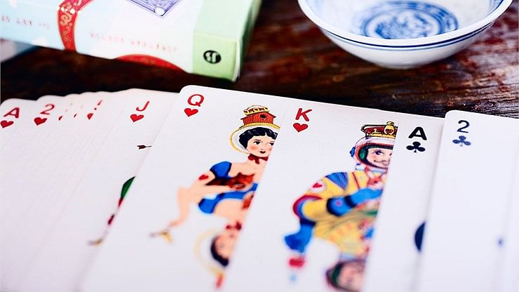 Odd Bods Playing Cards