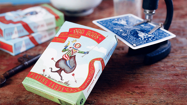 Odd Bods Playing Cards - magic