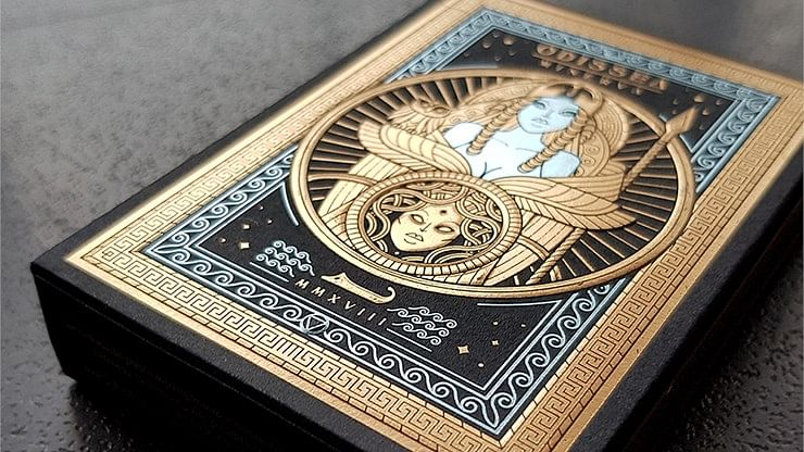 Odissea Minerva Playing Cards - magic