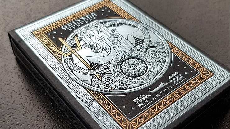 Odissea Neptune Playing Cards - magic
