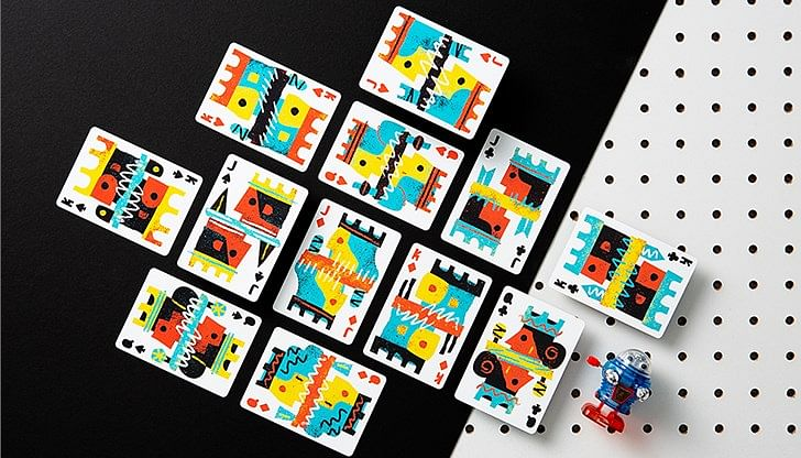 Off the Wall Playing Cards