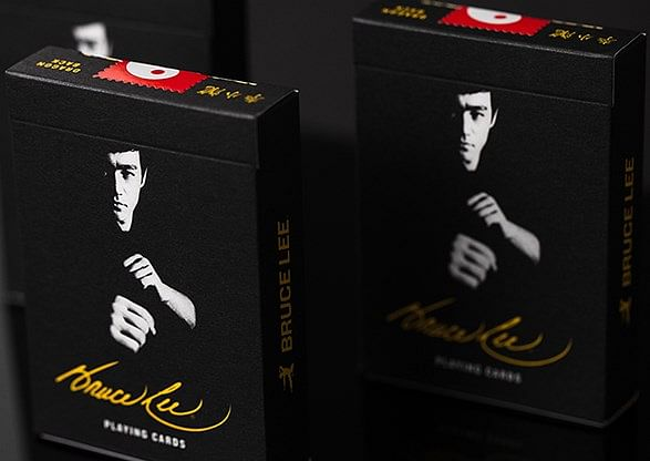 Official Bruce Lee Playing Cards - magic