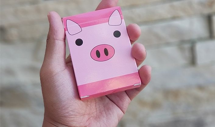Oink Oink Playing Cards - magic