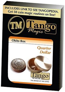 Okito Box  - US Quarter - magic