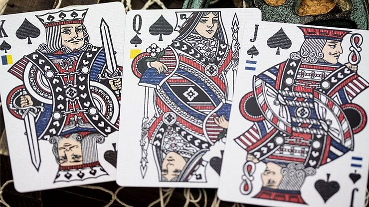 Old Ironsides Playing Cards