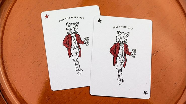 Tally Ho Olive Playing Cards