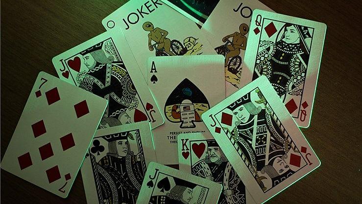 Orbit V6 Playing Cards