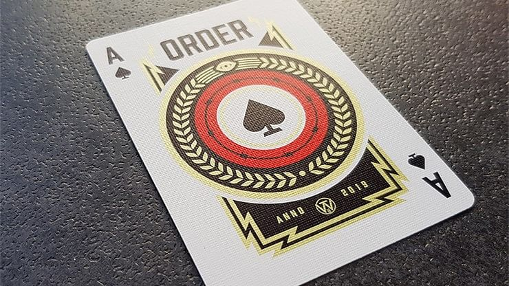 Order Imperium Playing Cards