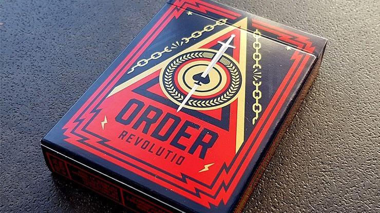 Order Revolutio Playing Cards - magic