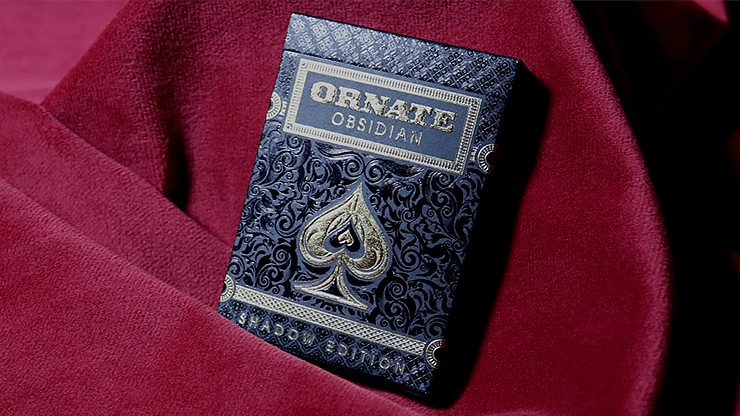 ORNATE Obsidian Shadow Playing Cards - magic