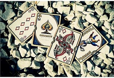 Ornate White Edition Playing Cards (Amythyst)