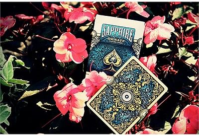 Ornate White Edition Playing Cards (Emerald)