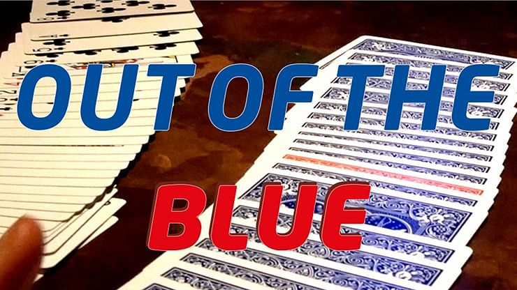 Out Of The Blue by James Anthony - magic