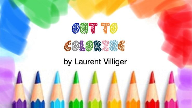 Out To Coloring - magic