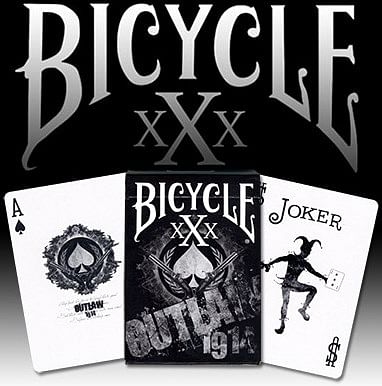 Bicycle xXx Outlaw Playing Cards - magic
