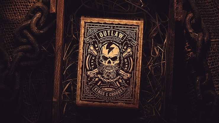 Outlaw Hell Riders Limited Edition Playing Cards - magic