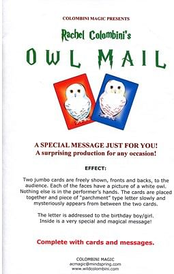 Owl Mail - magic