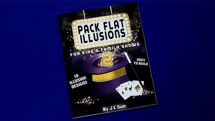 Pack Flat Illusions 2 for Kid's & Family Shows - magic