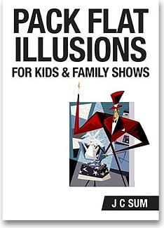 Pack Flat Illusions for Kid's & Family Shows - magic