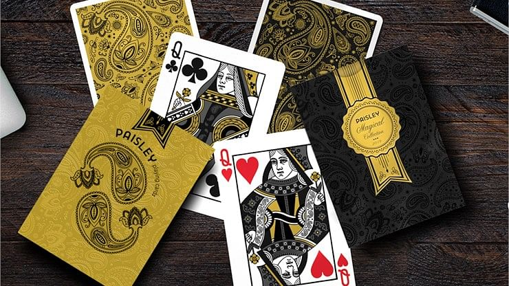 Paisley Magical Playing Cards
